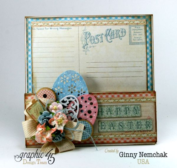 Happy Easter Pocket Graphic 45 Precious Memories Ginny Nemchak 1