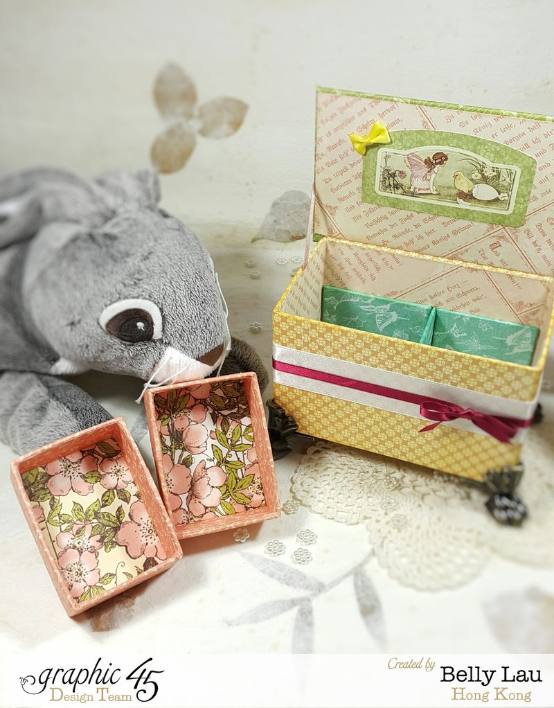 Peter Rabbit Cake Music Box - Graphic 45 - Once Upon a Springtime - Belly Lau - Papercraft Buffet - Tutorial - Photo 6