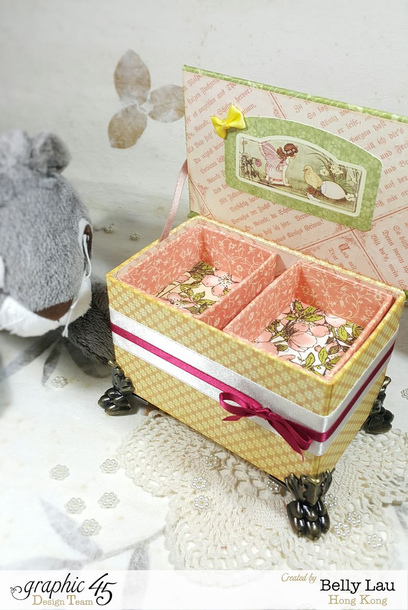 Peter Rabbit Cake Music Box - Graphic 45 - Once Upon a Springtime - Belly Lau - Papercraft Buffet - Tutorial - Photo 5