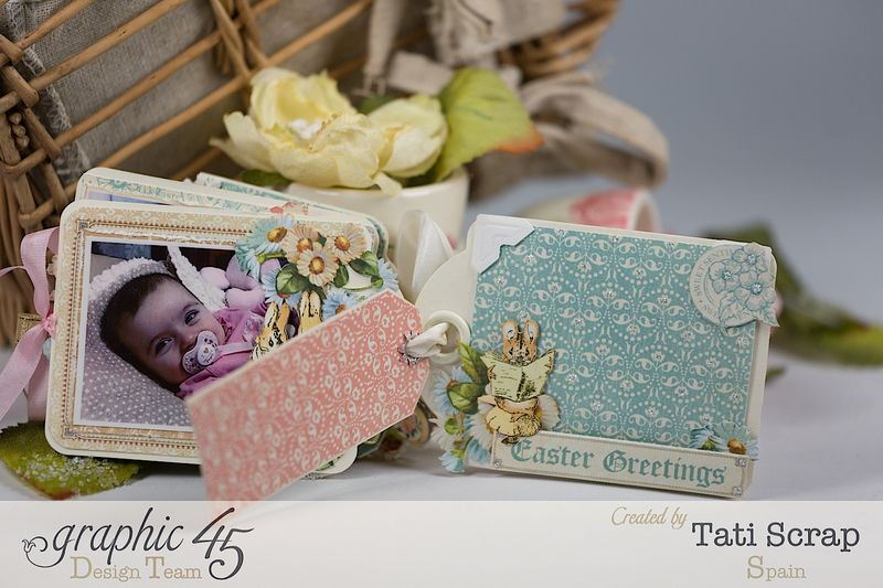 Tati, Easter Tags, Sweet Sentiments _ Once Upon a Springtime, Product by Graphic 45, Photo 10