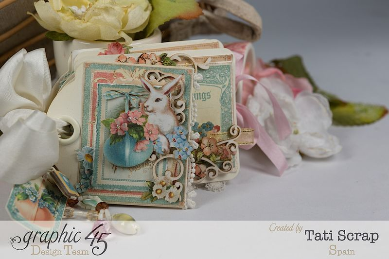 Tati, Easter Tags, Sweet Sentiments _ Once Upon a Springtime, Product by Graphic 45, Photo 11