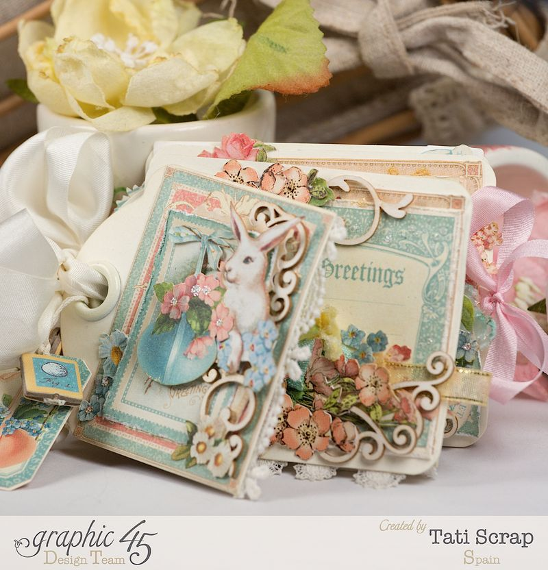 Tati, Easter Tags, Sweet Sentiments _ Once Upon a Springtime, Product by Graphic 45, Photo 3