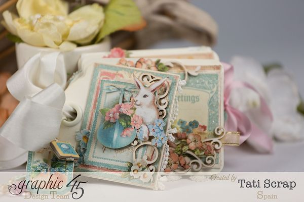 Tati, Easter Tags, Sweet Sentiments _ Once Upon a Springtime, Product by Graphic 45, Photo 0