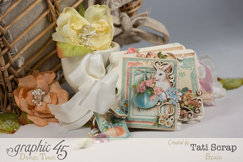 Tati, Easter Tags, Sweet Sentiments _ Once Upon a Springtime, Product by Graphic 45, Photo 2