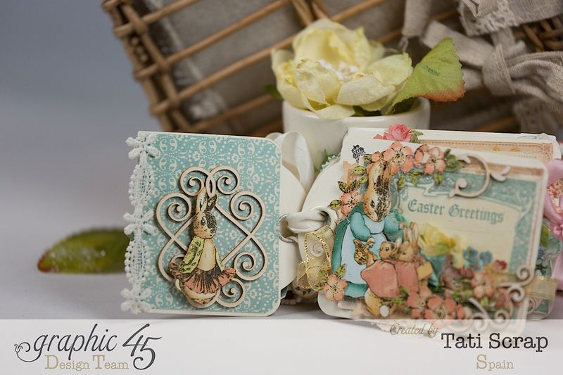 Tati, Easter Tags, Sweet Sentiments _ Once Upon a Springtime, Product by Graphic 45, Photo 6