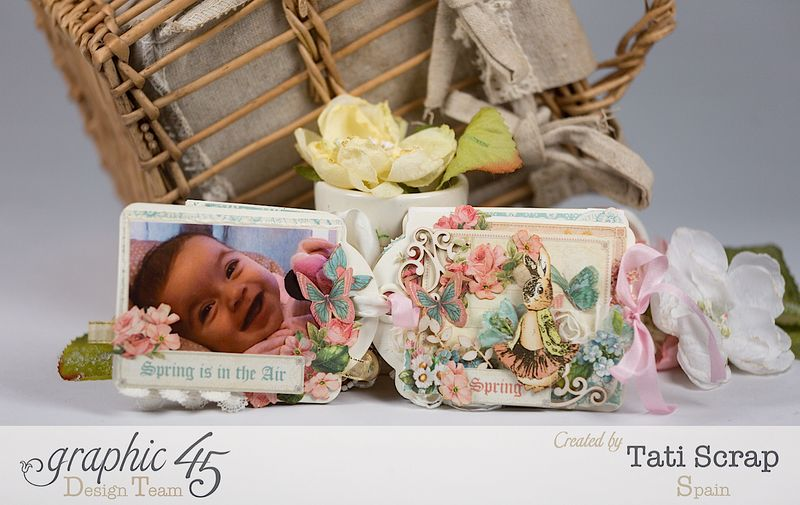 Tati, Easter Tags, Sweet Sentiments _ Once Upon a Springtime, Product by Graphic 45, Photo 7