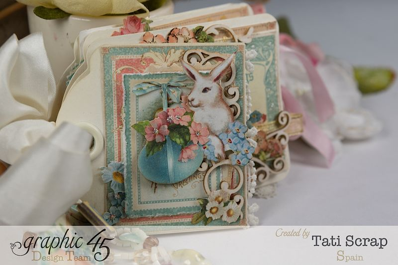 Tati, Easter Tags, Sweet Sentiments _ Once Upon a Springtime, Product by Graphic 45, Photo 12