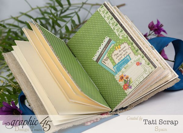 Tati, Spring Book, May Arts blog hop, Children´s Hour, Product by Graphic 45, Photo 1