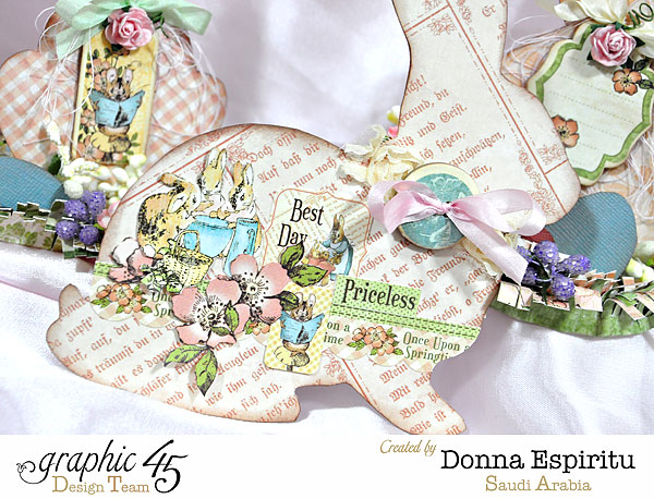 Easter-bunny-decorations,-Once Upon A Springtime,by-Donna-Espiritu,Product-by-Graphic-45-01b