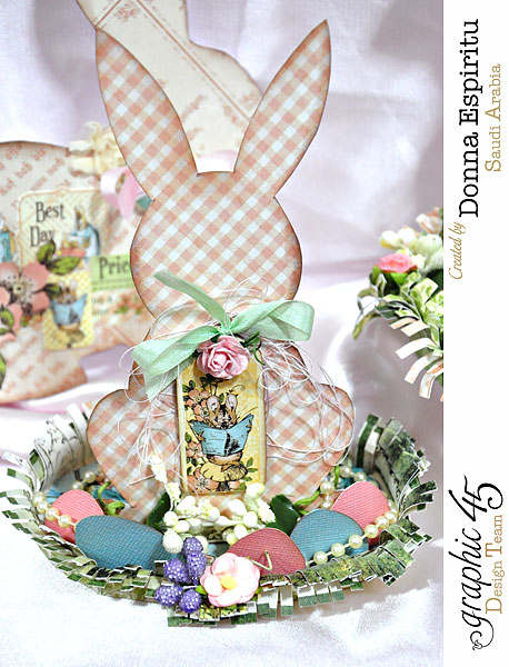 Easter-bunny-decorations,-Once Upon A Springtime,by-Donna-Espiritu,Product-by-Graphic-45-01c