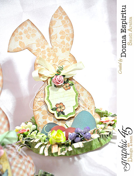 Easter-bunny-decorations,-Once Upon A Springtime,by-Donna-Espiritu,Product-by-Graphic-45-01d
