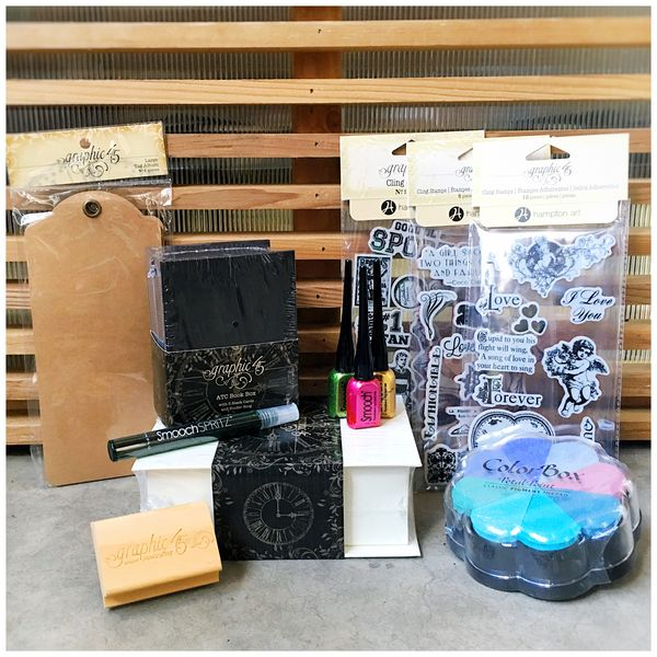 $50+ Stamps, Staples and Clearsnap Ink! -1