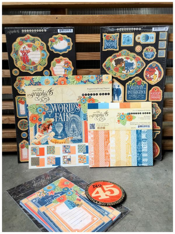 $45 World's Fair Prize Pack