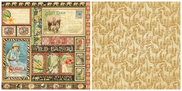 7 - Amazing Africa from Safari Adventure, a new collection from Graphic 45