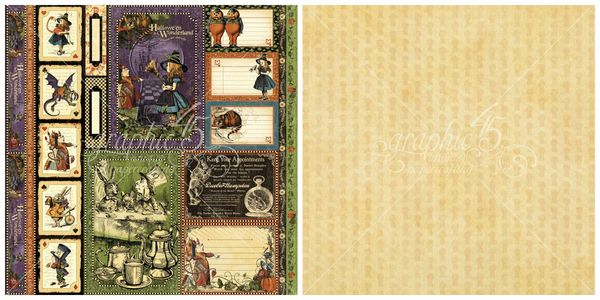 12 - Tweedledee and Tweedledum from Hallowe'en in Wonderland, our new Deluxe Collector's Edition #graphic45