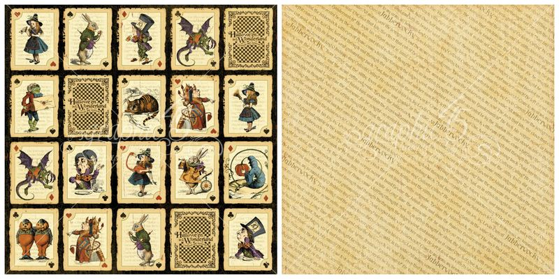 2- Jabberwocky from Hallowe'en in Wonderland, a new Deluxe Collector's Edition from Graphic 45 #sneakpeeks