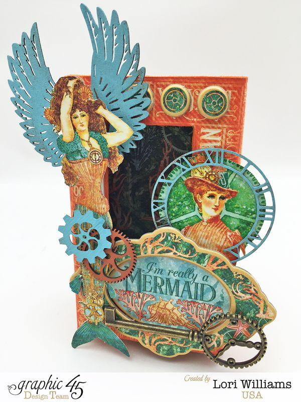 Voyage Beneath the Sea Curio Box by Lori Williams Designed for Graphic 45 photo 1