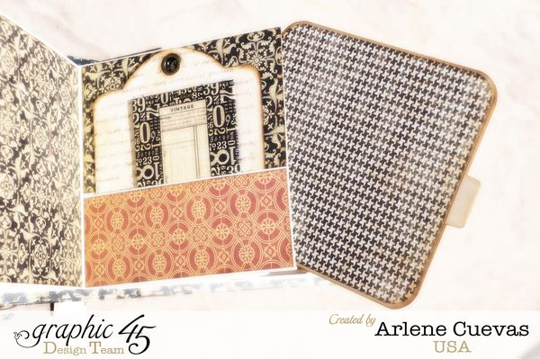 Tag Album, Botanicabella, Arlene Cuevas, Product by Graphic 45, Photo 1