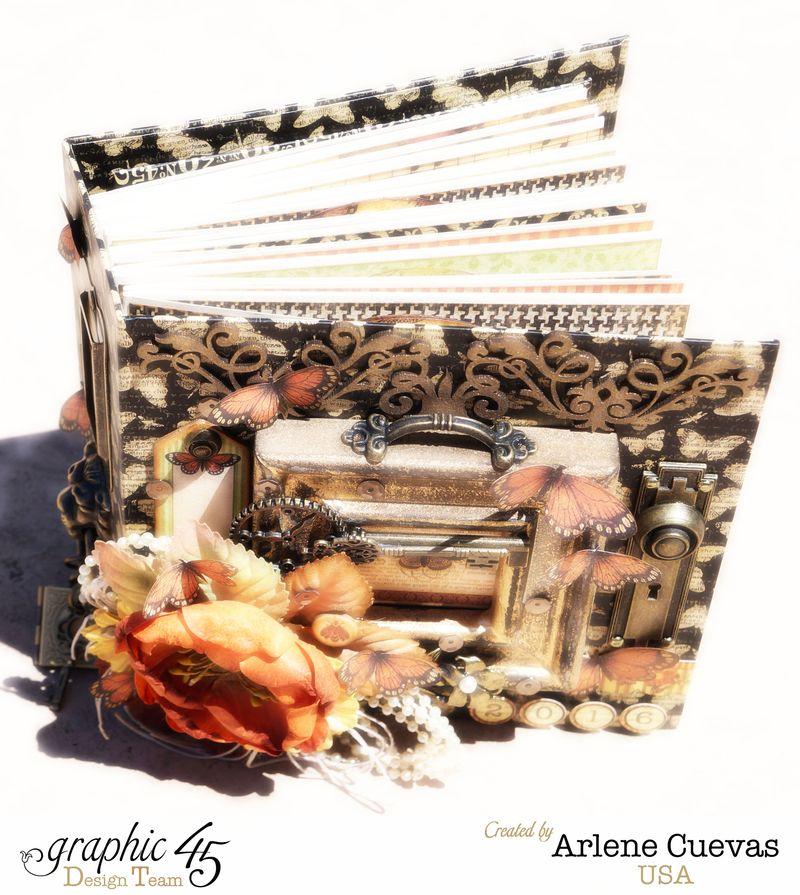 Tag Album, Botanicabella, Arlene Cuevas, Product by Graphic 45, Photo 6