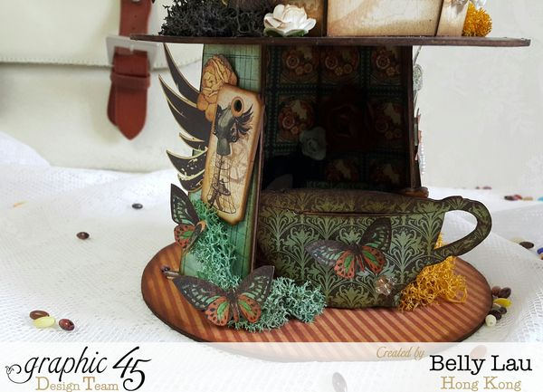Coffee Maker Photo Display Home Decor - Graphic 45 - Steampunk Debutante - Belly Lau - Spout