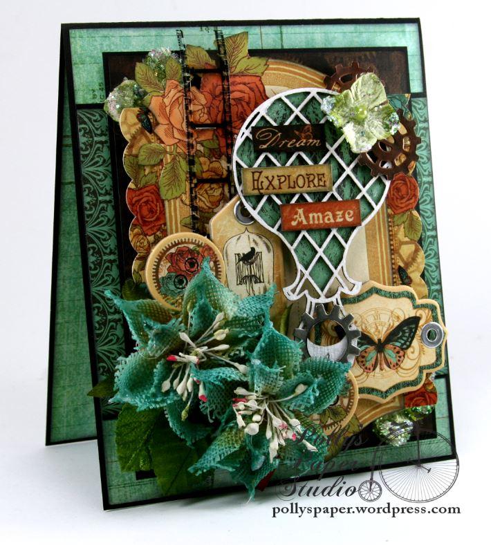 Dream-Explore-Amaze Greeting Card All Occasion 1