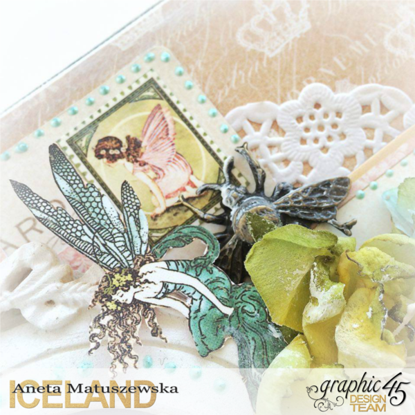 Gilded Lily and Once Upon a Springtime Canvas by Aneta Matuszewska, 2
