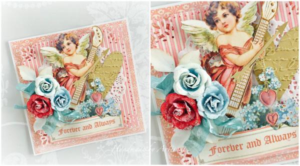 Beautiful card set from Aneta Matuszewska using Sweet Sentiments #graphic45