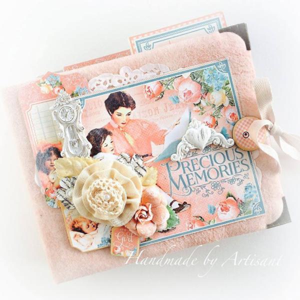 Precious Memories album by Aneta Matuszewska #graphic45