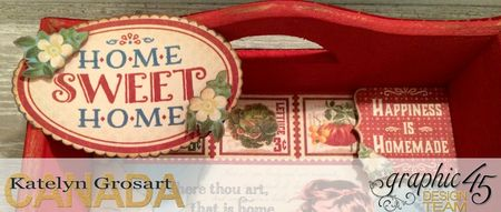 Home Sweet Home - Full image of tray
