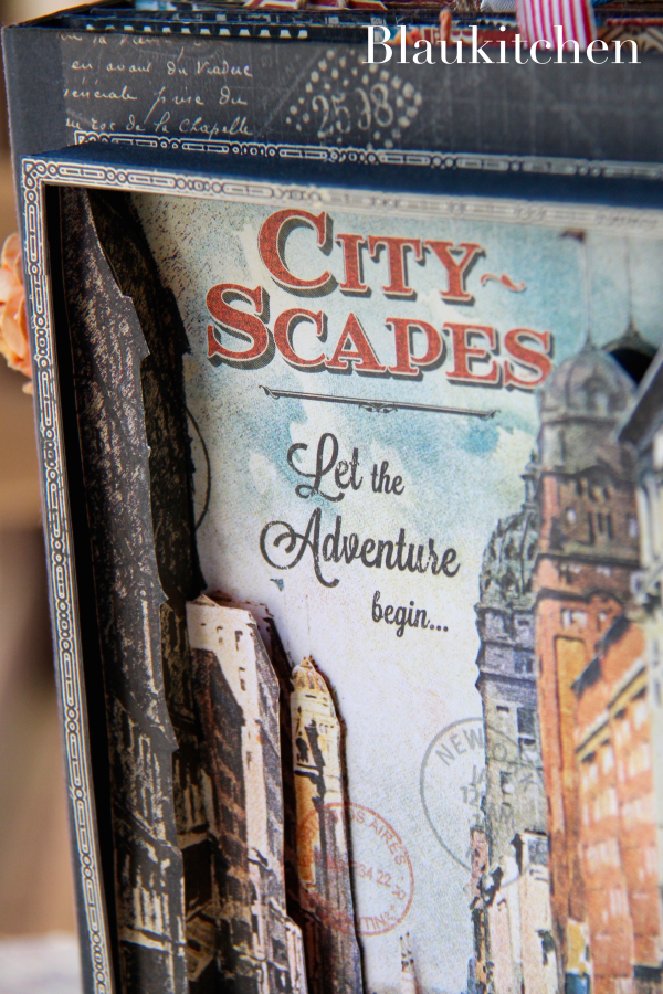 Travel Album City Scapes by Marina Blaukitchen, Product by Graphic 45 Photo 12