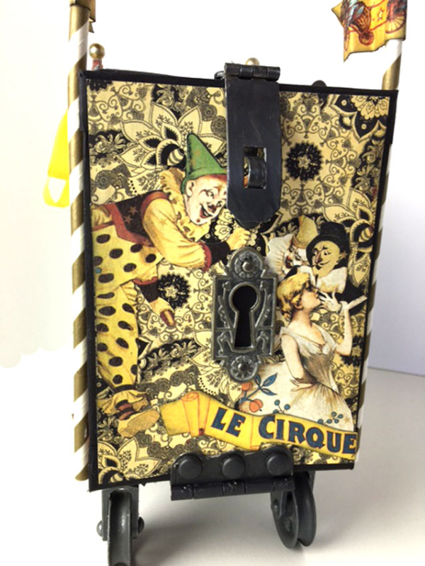 Circus Wagon, Le Cirque, by Sandy Trefger, Product by  Graphic 45, Photo 1