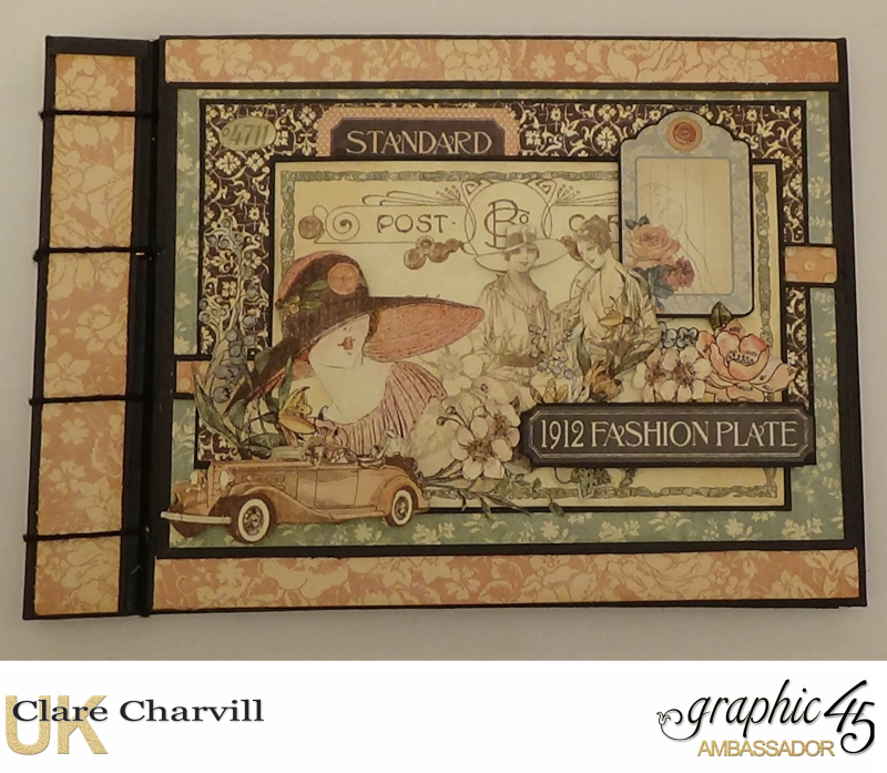 A LAdies Diary Memory Box 11a  Clare Charvill Graphic 45