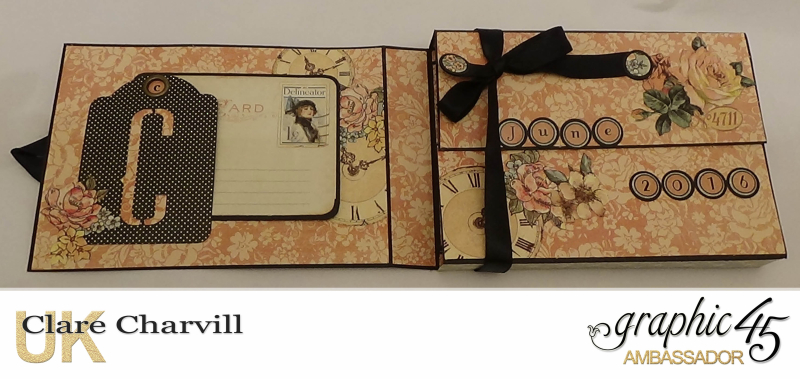 A Ladies Diary Memory Box 12a Clare Charvill Graphic 45