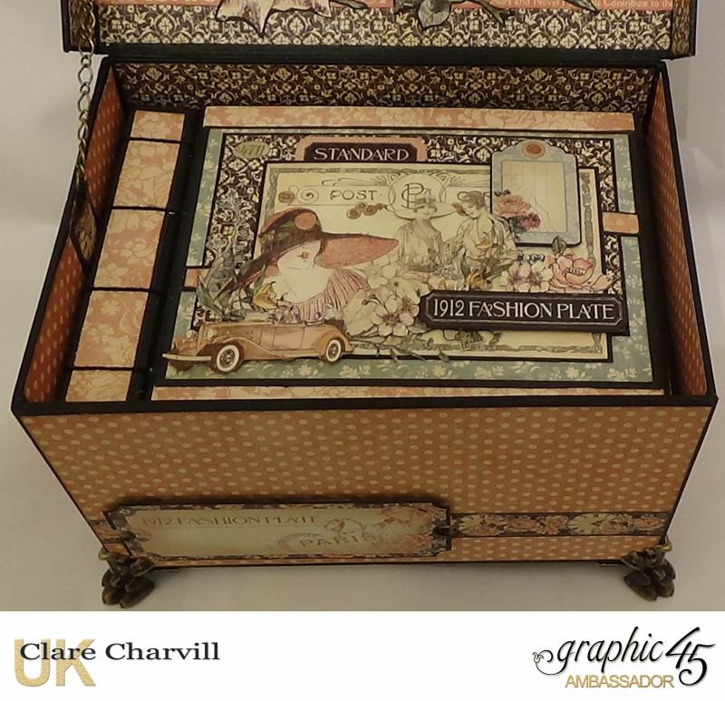 A LAdies Diary Memory Box 6 Clare Charvill Graphic 45