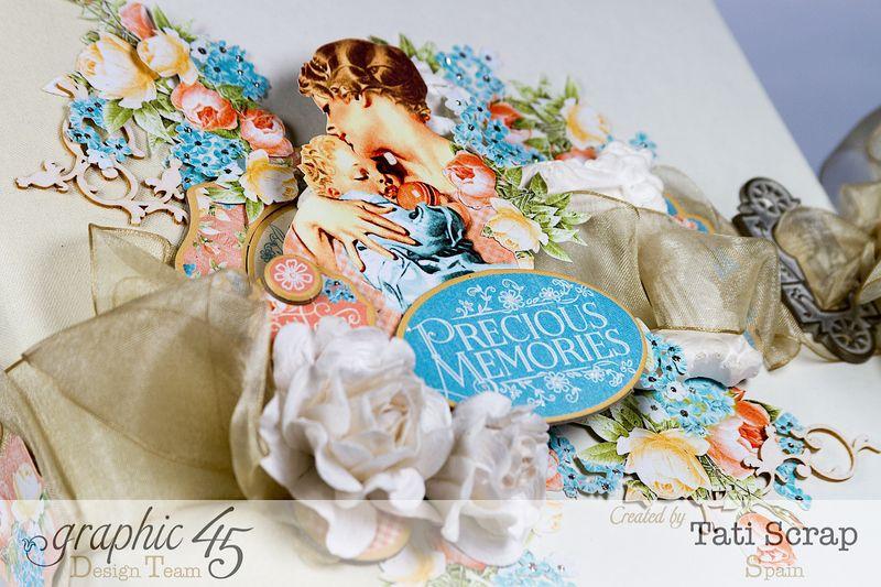 Tati, Album, Precious Memories, Graphic 45, Photo 2