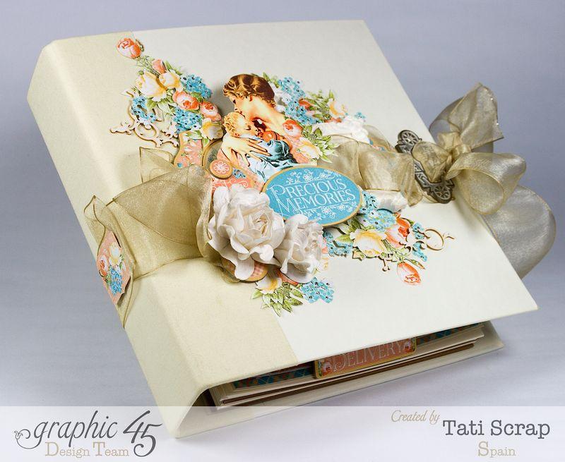Tati, Album, Precious Memories, Graphic 45, Photo 1