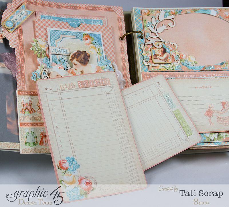 Tati, Album, Precious Memories, Graphic 45, Photo11