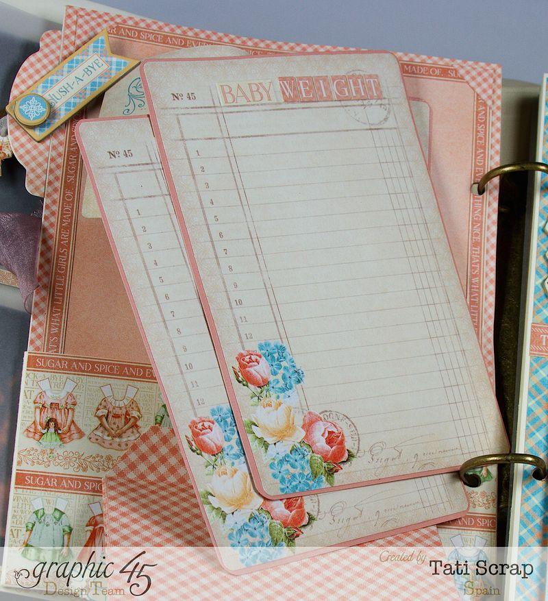 Tati, Album, Precious Memories, Graphic 45, Photo12
