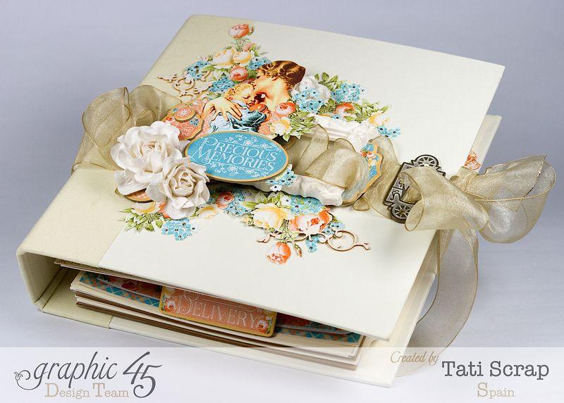 Tati, Album, Precious Memories, Graphic 45, Photo4