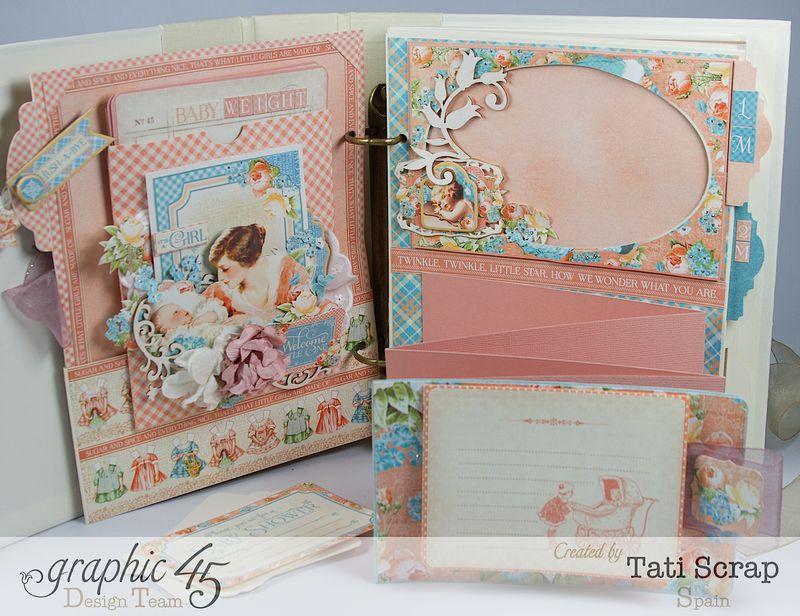 Tati, Album, Precious Memories, Graphic 45, Photo15