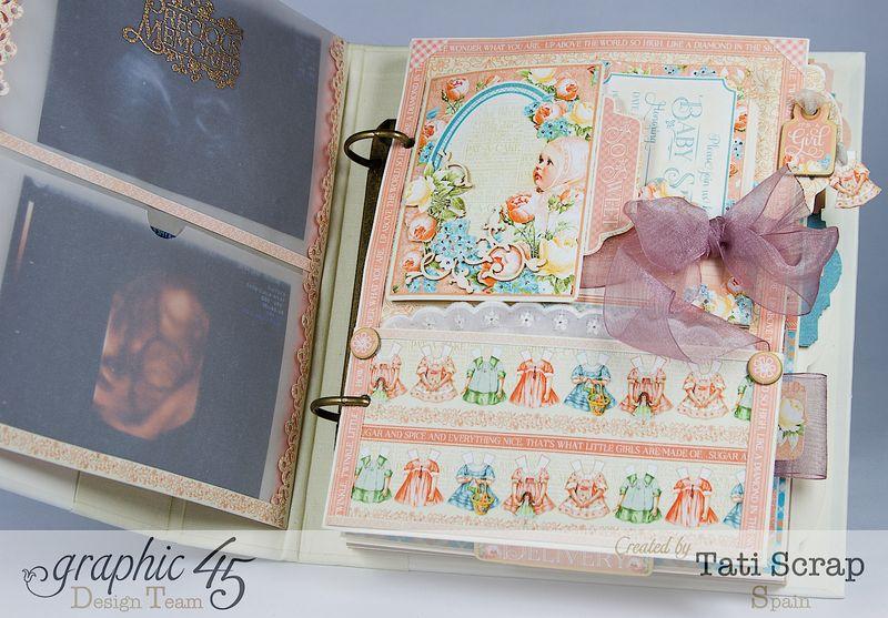 Tati, Album, Precious Memories, Graphic 45, Photo6