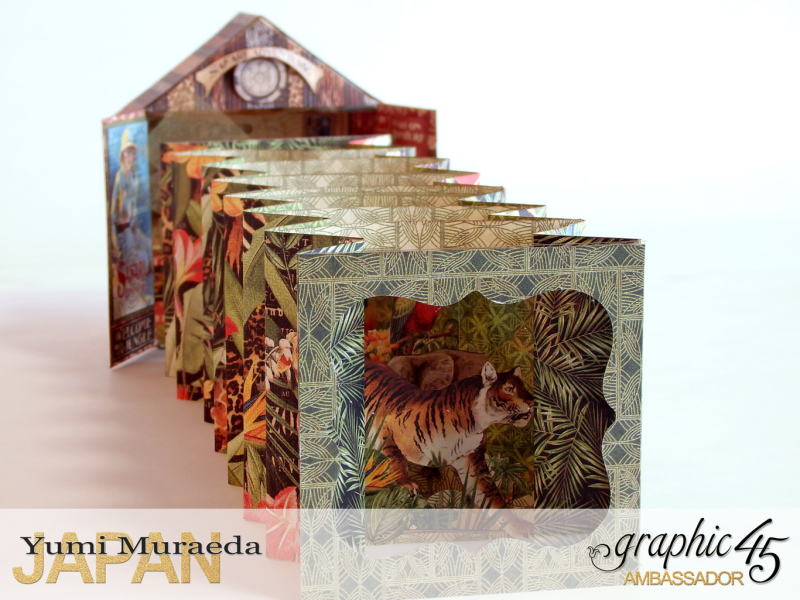 4Safari Park Ranger Office, Safari Adventure, by Yumi Muraeda, Product by Graphic 45.