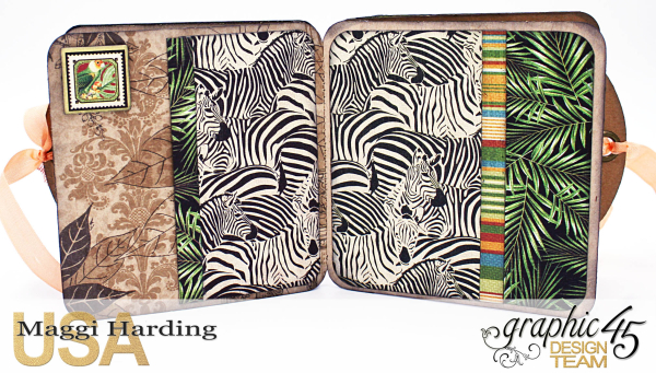 Tag Mini, Safari Adventures, Tutorial by Maggi Harding, Graphic 45 (1)