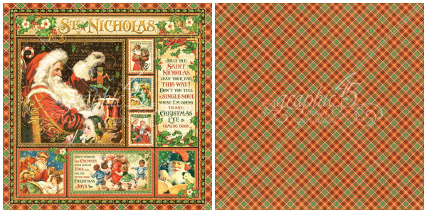 1- The Signature Page from St. Nicholas, a new collection from Graphic 45!