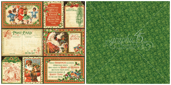 5 - Be Jolly, a page from St. Nicholas, a new collection from Graphic 45