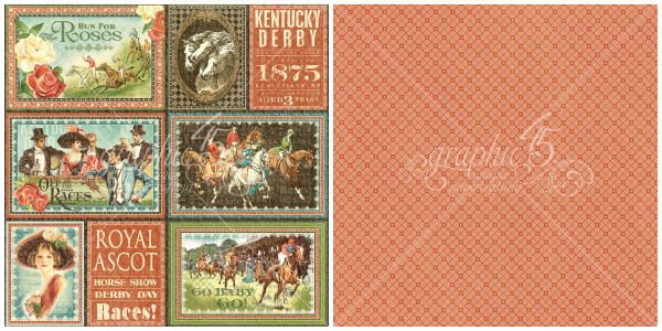 6 - Royal Ascot, from Off to the Races, a new collection from Graphic 45