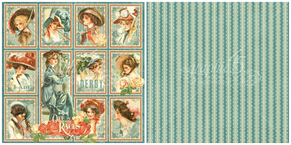 9 - My Fair Lady, from Off to the Races, a new collection from Graphic 45