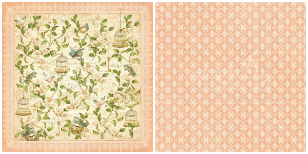 3 - Leafy Treetops from our newest Deluxe Collector's Edition, Secret Garden!
