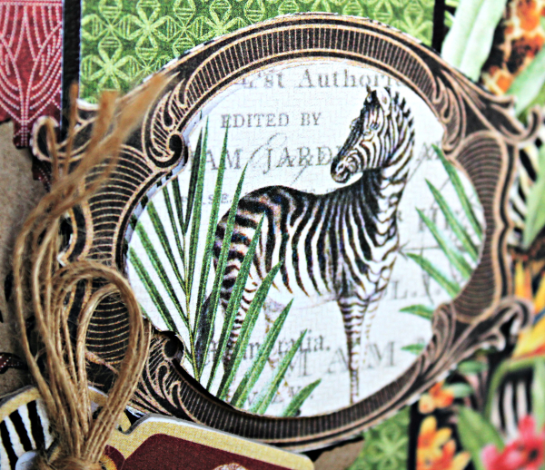 Journey Card, Safari Adventure Collection by Pam Bray, Product by Graphic 45, Photo 5_9916