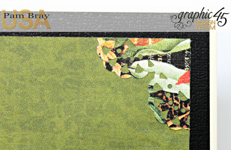 Journey Card, Safari Adventure Collection by Pam Bray, Product by Graphic 45, Photo 8_9923